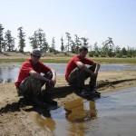 spyON и drum на берегу озера Арахлей