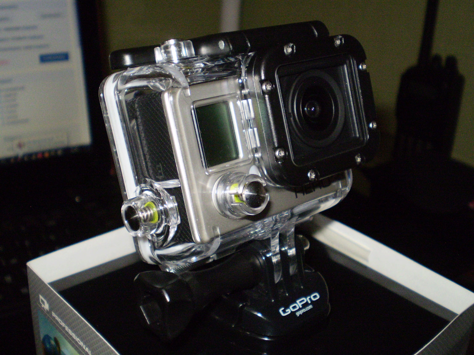 GoPro Hero3 Silver Edition во всей красе.