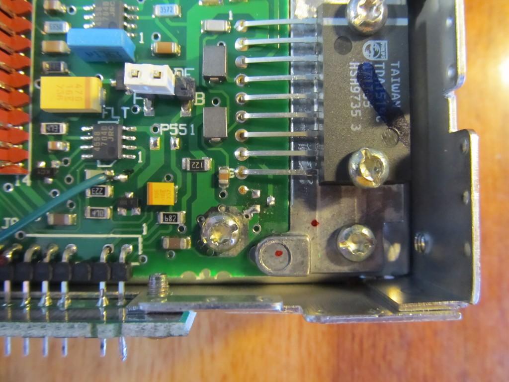 Отсутствующий транзистор Q501.