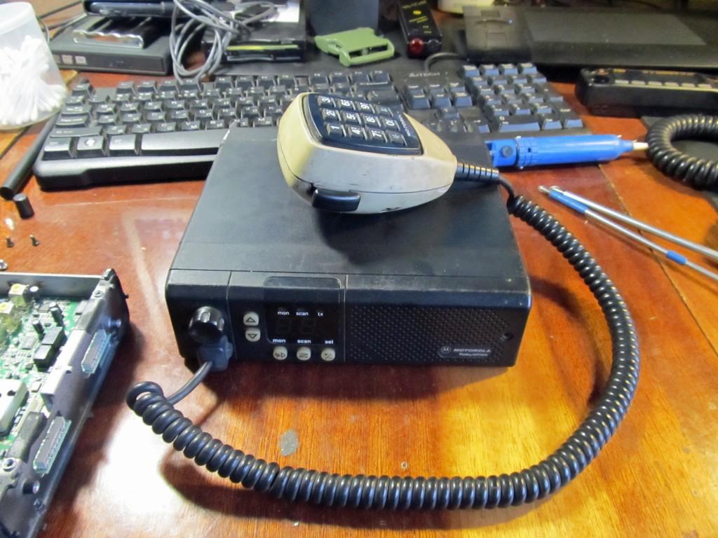 Motorola GM300 Radius.